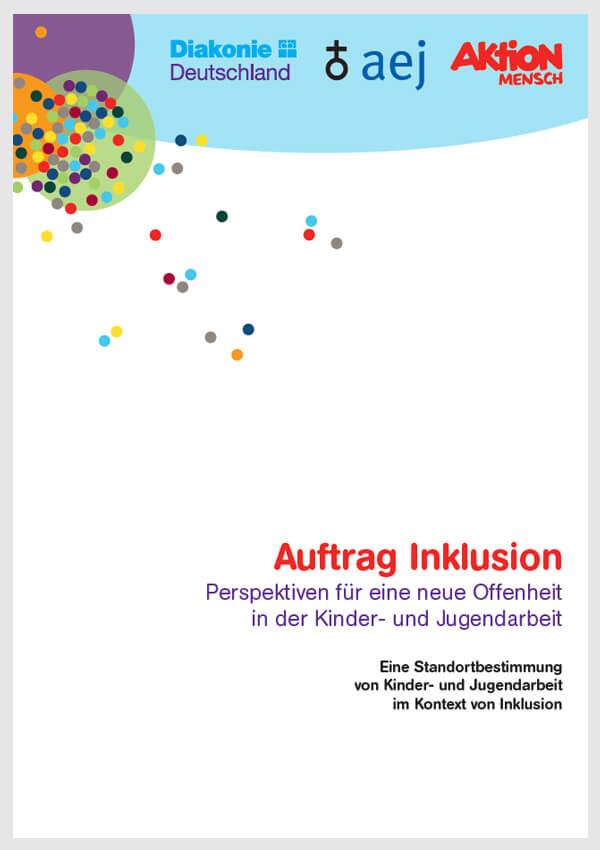 Auftrag Inklusion - mit Poster für den Inklusions-Check (zum Download)