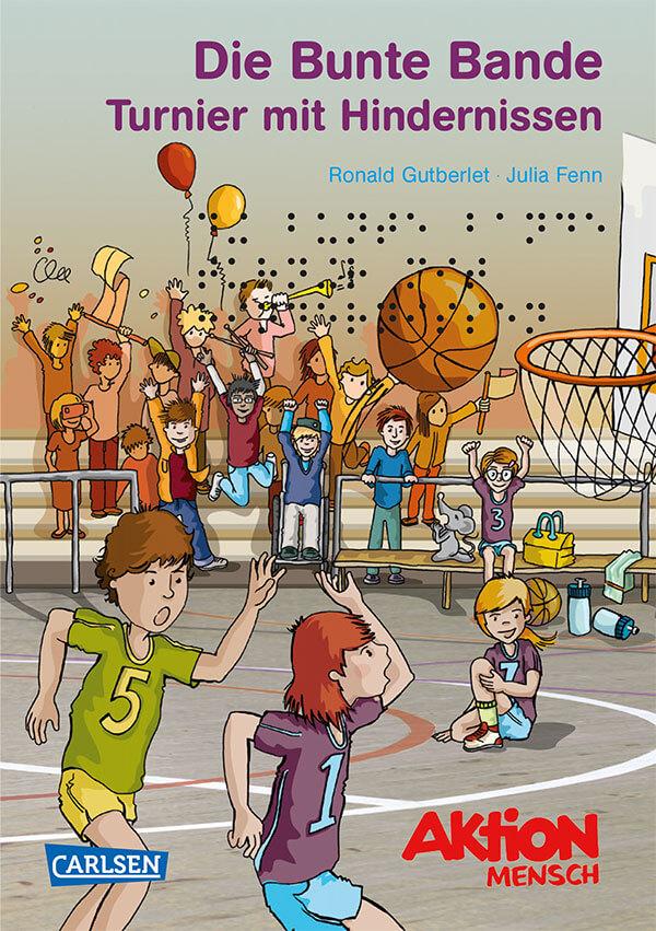 """Kinderbuch """"Die Bunte Bande: Band 2 - Turnier mit Hindernissen"""""""