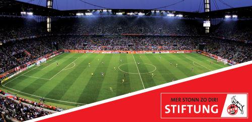 1. FC Köln: Blick auf das Spielfeld